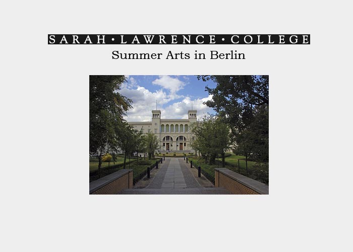 Sarah Lawrence College • Summer Arts in Berlin